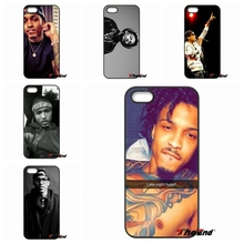 For iPod Touch iPhone 4 4S 5 5S 5C SE 6 6S 7 Plus Samung Galaxy A3 A5 J3 J5 J7 2016 2017 August Anthony Alsina, Jr singer Case