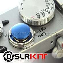 Blue Soft Release Button for Leica Contax Fujifilm X100 size:S