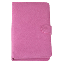 "YOC Leather Style Cover Case with USB Keyboard for 7"" inch Tablet PDA Android PC (Standard USB 2.0 keyboard) (pink)"