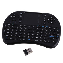 Russain Version 2.4Ghz Wireless Fly Air Mouse Keyboard UK Layout Touchpad Keyboard For PC Andriod TV Box Media Mini TV PC