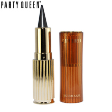 Ultra Waterproof Gel Eyeliner Pencil Easy Make up for Beginners Party Queen Kajal Solid Eye Liner Stick Permanent Black Makeup