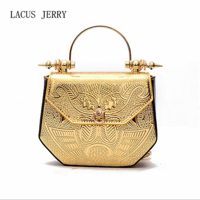 LACUSJERRY 2017 Fashion Woman Box Messenger Bags Female Casual Small Flap Crossbody Bag Chain Lock Portable Shoulder Bag Handbag<br>