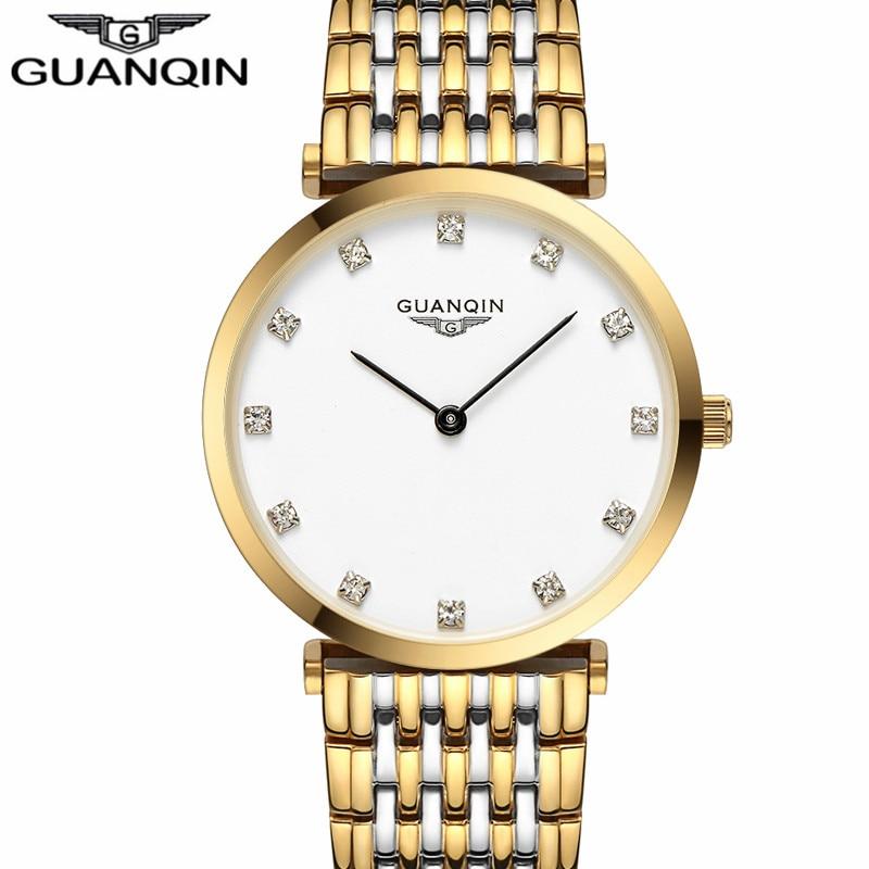 Women Watch New Fashion designer watches women Original brand GAUNQIN Sapphire waterproof full steel  ultrathin 6mm lady watch<br>