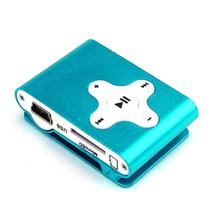 2017 Top SALE fashion Mini Clip Metal USB MP3 Player Support Micro SD TF Card Music Media Slick stylish design Sport Compact