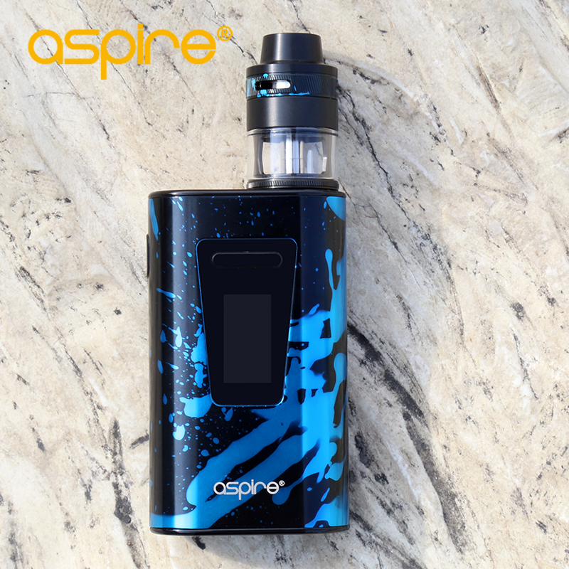 Electronic Cigarette Aspire Typhon Revvo 100W Vape Kit E Cig Device with 5000mah Built-in Battery and 2ML Revvo Atomizer Tank 13