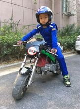 Children car racing  suit  motorcycle racing jacket pants coverall for boys and girls 3colors black blue and red.