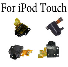 New Earpiece Headphone Socket Audio Jack Flex Cable Replacement Part For iPod Touch 2 2nd 3 3rd For iTouch 4 4TH