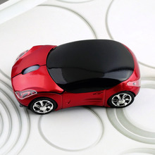 2017 New 1000DPI Wireless Car Optical Mouse Car Shape Wireless Mouse Cool Fashion Precision Mice For PC Laptop + USB receiver