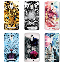Buy Tiger Lion Cat Animal Patterned Case HomTom HT17 Cover Silicone Soft Shell HomTom HT17 Pro Case Phone Back Cover Fundas for $1.38 in AliExpress store