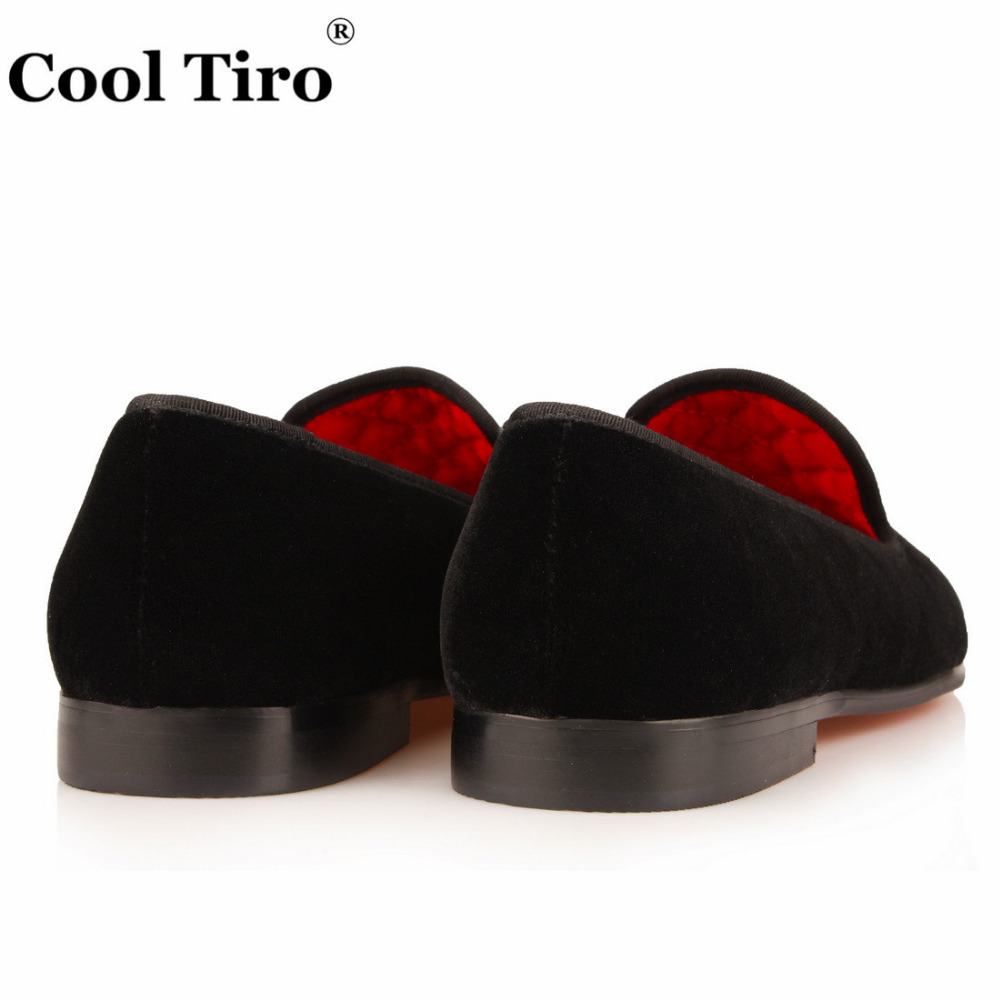 Men's Shoes Cool Tiro Glistening Loafers Tassel Slippers Black Glitter Genuine Leather Dress Shoes Mens Flats Gentleman Prom Luxury Brand With A Long Standing Reputation Formal Shoes