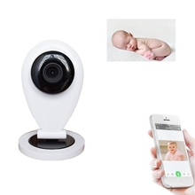 2017 wifi camera babyphone nanny 720P babyphone camera IR Night vision Intercom Motion Detection Alarm wifi baby phones monitor(China)