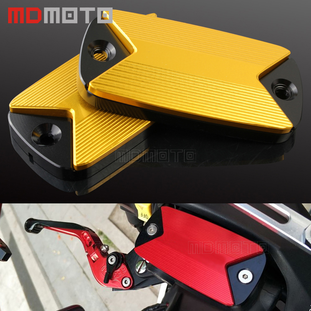 CNC Front brake Fluid Reservoir cover Cap For Honda X-ADV XADV X ADV 2017 Motorcycle Accessories Front Brake Fluid Reservoir Cap<br>