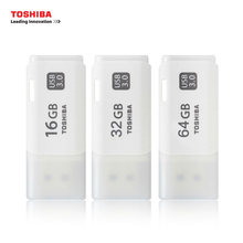 Original TOSHIBA USB Flash Drive 3.0 16G 32G 64G Memory Driver U301 USB Pen-drive Stick Plastic Pendrive(China)