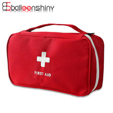 BalleenShiny Portable First Aid Emergency Medical Kit Survival Bag Empty Medicine Storage Bag Travel Outdoor Sport Camping Tool