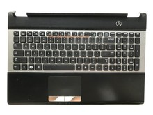 Reboto Original Laptop Keyboard Compatible for SAMSUNG RC530 US Layout BA75-03201A With Palmrest Frame High quality Brand New