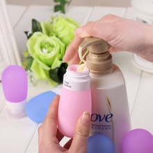 New Shampoo Shower Gel Lotion Sub-bottling Tube Squeeze Silicone Travel Bottles