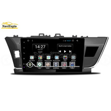 NAVITOPIA 8-Core 2G+32G Octa Core Android 6.0 Car DVD GPS Navigation for Toyota Corolla 2014 2015 2016 Taiwan Car PC Radio(China)