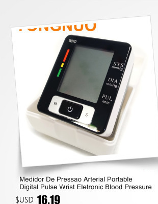 Portable Blood Pressure Monitor Health Care Pulse Meter Automatic Digital Sphygmomanometer Household Tonometer Medical Shipping 1