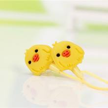 New Cartoon in-ear Earphone Sport Stereo 3.5mm Headphone for iPhone Samsung Computer mp3 fone de ouvido