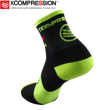 2017 New Cycling Socks High Elasticity Breathable Men Women Sport Socks 4 Colors Running Marathon Football Bike Bicycle Socks