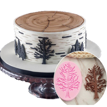 Tree Branches Cake Border Silicone Molds Cupcake Fondant Decorating pastry Tools Candy Chocolate Decor Moulds Kitchen Baking(China)
