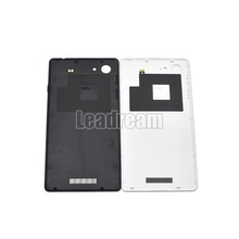 10pcs/lot For Sony E3 D2203 D2206 D2243 D2202 Battery Back Cover Door Back Case Housing White Black(China)