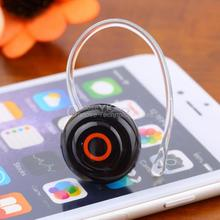 Smallest Music+Phone Calls Hands-free Stereo Bluetooth Mini In Ear Earphone Headset Headphones With Ear hook YKS hot new