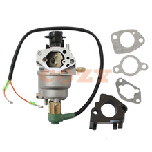 Carburetor Carb W/ Solenoid Gaskets For Honeywell HW5500 Generator 337cc 100924A(China)