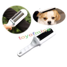 Wholesale  Brand New white Dusting brush Electrostatic Static Cloth Lint Dust Pets Hair Cleaner Remover Brush Sweeper Tool