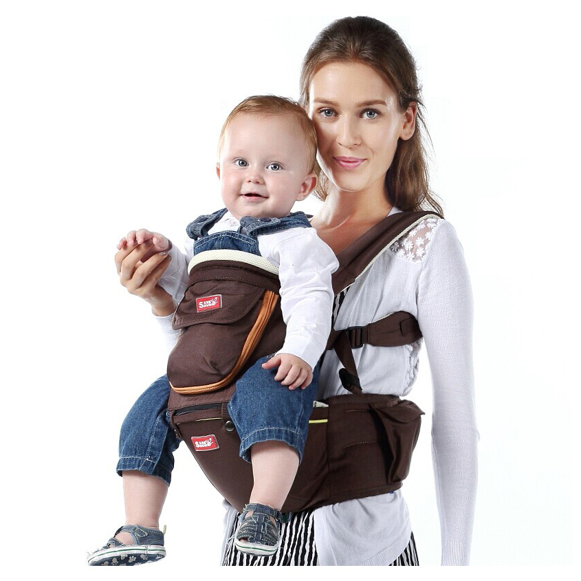 2in1 Baby Carrier Hipseat Breathable Ergonomic Front Carrier Kids Infant Hip Seat Kangaroo Carrier Waist Tool High Quality Brand<br><br>Aliexpress