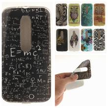Fashion IMD Painting TPU Soft Silicone sFor Motorola MOTO G3 Phone Case For Motorola MOTO G3 Phone cover(China)