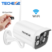 Techege MINI 1280*720P WIFI IP Camera Waterproof HD Network 1.0MP wifi camera nignt vision Outdoor wireless ip Yoosee - Official Store store