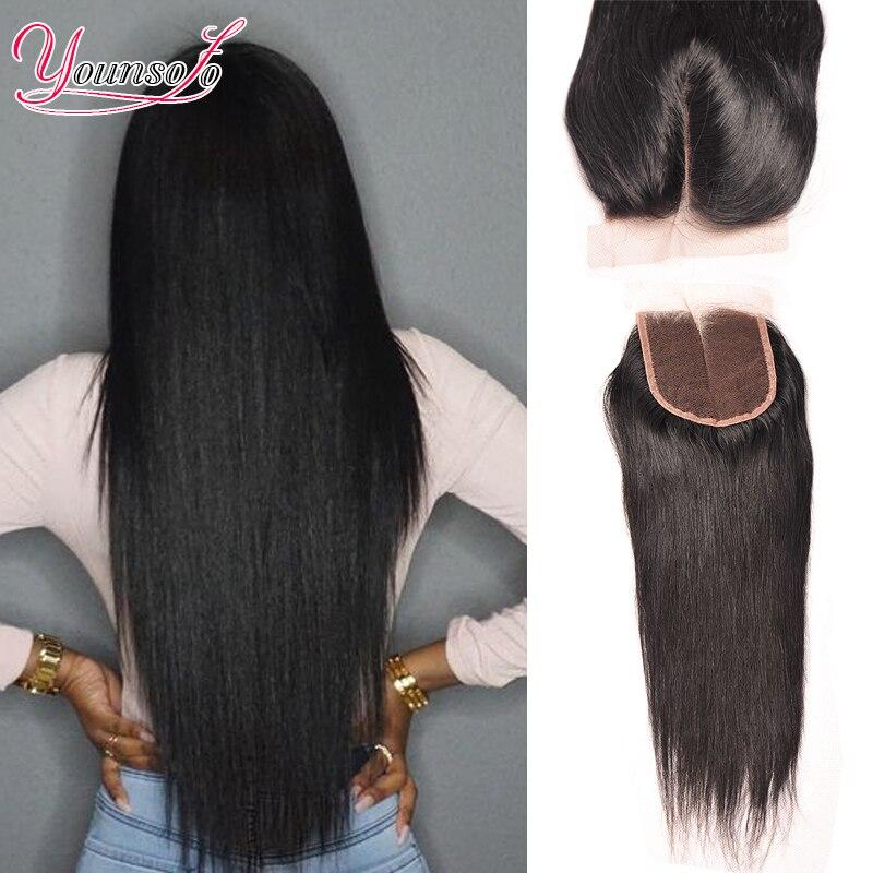 7A Brazilian Virgin Hair Closure 4*4 Inches Brazilian Straight Closure Cheap Human Hair Lace Closure Straight Middle Free Part<br><br>Aliexpress