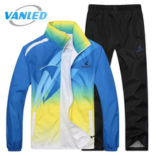 2017 New Fashion Spring Autumn Men And Women Hoodie Sweatshirt Outwear Tracksuit Men Brand-Clothing Gradient Printed Hoodies(China)