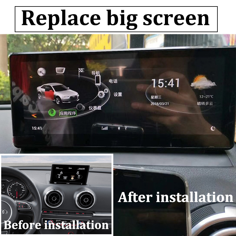 Liislee Car Multimedia Player NAVI 8.8 inch For Audi A3 8V 2013~2018 Riginal Car MMI Style Radio Stereo GPS Navigation (4)