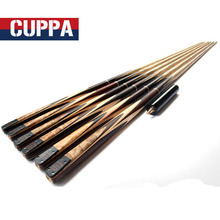 Cuppa Hand Made 3 4 Jointed Snooker Cues Sticks 9.8mm/11.5mm Tips With Extension China(China)