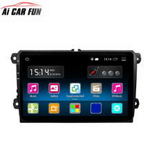 RM-VWTY90 9 inch Android 5.1 Car Multimedia Stereo Player A2DP GPS 1G DDR3 +16G NAND Memory Flash for VW Passat Golf Jetta Polo(China)