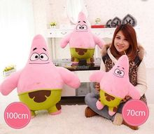 Fancytrader Hot Item! 39'' / 100cm Super Cute Plush Giant Stuffed Soft Patrick Star Toy, Great Gift, Free Shipping FT50848(China)