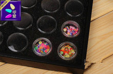 HOT SALE Brand New Convenient 50/25 Bottles Transparent Plastic Jewelry Storage Rectangle Box Nail Arts Ring Organizer