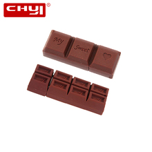 CHYI Chocolate Pen Driver Cartoon USB Flash Drive 4GB 8GB16GB 32GB 64GB Memory Stick Pendrive Creative U Disk For Valentine Gift(China)