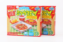 1bag DIY Kracie Popin Cook candy dough Toys.Pizza birthday cake happy kitchen Japanese food candy snacks making kit