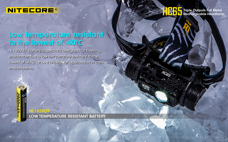 Nitecore HC65 1000 Lumens Rechargeable Headlamp (17)