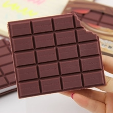 1 PC Newest Convenient Stationery Notebook Chocolate Memo Pad DIY Cover Notepad Student Stationery Supplies