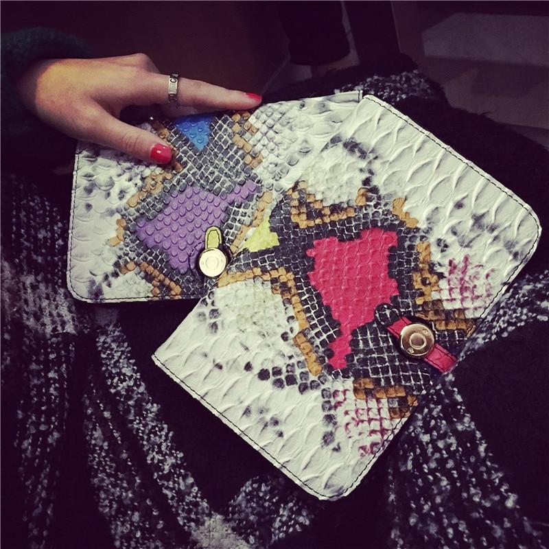 2017 new Woman Genuine serpentine Wallet Zipper Lady Long Wallet Women Elegant Female Clutches Cards Holder Gifts<br><br>Aliexpress