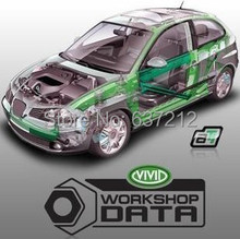 10.2 Vivid Workshop Service Manual, Electrical Wiring Diagram, Maintenance, Flat Rates for All Models Cars(China)