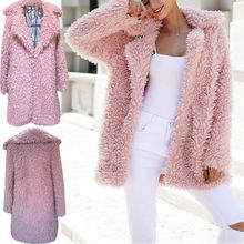 Buy Women Long Sleeve warm Wool & Blends Loose Jumper Cardigan Outwear Coat Winter New Fashion Women Clothes for $14.00 in AliExpress store