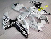 Hot Sales,For Suzuki Fairing GSXR 600 750 2008 2009 2010 K8 GSXR600 GSXR750 08 09 10 Jordan Fairing kit (Injection molding)