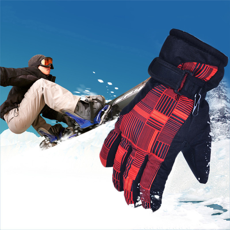 Ski Gloves Men Women Snowboard Gloves Snowmobile Motorcycle Riding Winter Windproof Waterproof Warm Gloves Snow Skiing Equipment 1