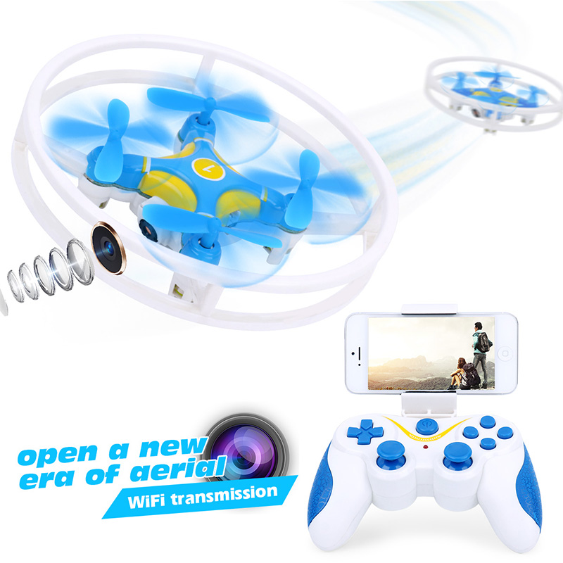 (Upgrade Version)RC Selfie Drone Remote Control Helicopter Quadcopter 0.3MP 480P HD Camera OR RC Dron No Camera D1 VS JJRC H37(China (Mainland))