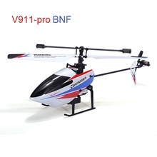 Hot Sale Good Quality WLtoys V911-pro V911-V2 2.4G 4CH RC Remote Control Helicopter BNF Version